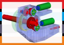MKS, CAE, elastisches Mehrkörpermodell, Schaufelradbagger