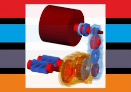 MKS, CAE, elastisches Mehrkörpermodell, Verteilergetriebe