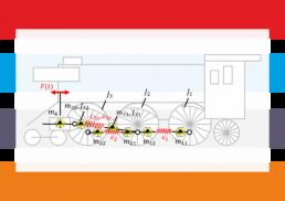 Maschinendynamik, Schwingungsmodell Dampflokomotive